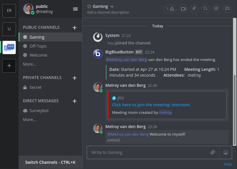 Discord Dark Theme